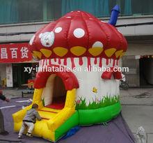 Small inflatable mushroom bouncer inflatable mushroom jumper For Kids