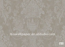 Eco-friendly non-woven wall paper with foaming in competitive price
