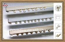 hot vendas de alumínio decorativas trilho de cortina