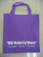 Light weight nonwoven shopping bag