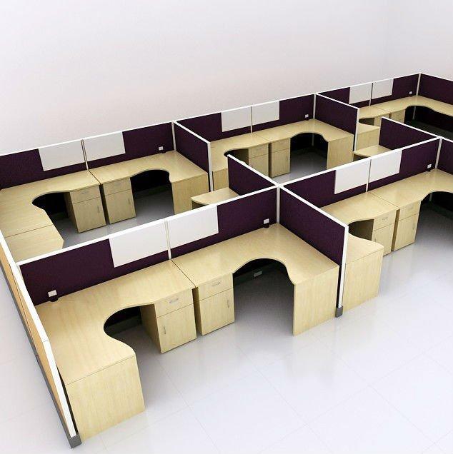 Office Furniture Modular Workstation Fabric Panel