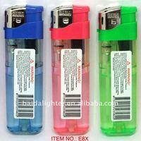 Item No.E8X, Electronic Refillable Gas Lighter