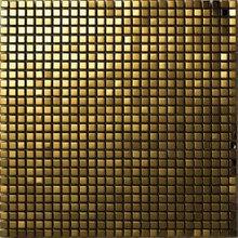 Gold mosaic mirror tile (SA081-2)