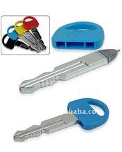 plastic key shaped pen