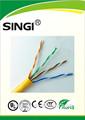 fuente de la fábrica cat5e cable de comunicación de datos y la creación de redes