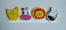 Animal shaped eraser