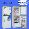 158L Top freezer combi double door refrigerator