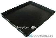 Anti- statica(ESD) elettronica vassoio di plastica/scatola