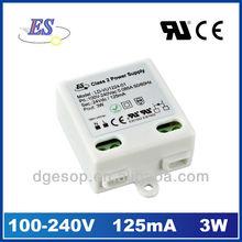 3W 12V Constant Voltage LED Driver