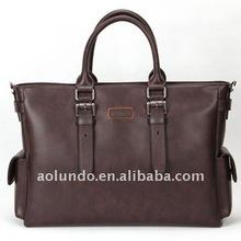 New design fashion designed leather tote bag for men