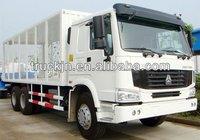 3 axle truck cargo trailer/motorcycle cargo trailer/Sinotruk Howo 6x4 Cargo Truck