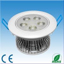 5W high power led down light, led downlight
