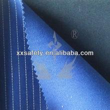 EN11612 100% cotton XINXINGFR finished 10oz 330g antistatic and flame retardant twill fabric