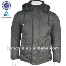 men winter apparel with hood