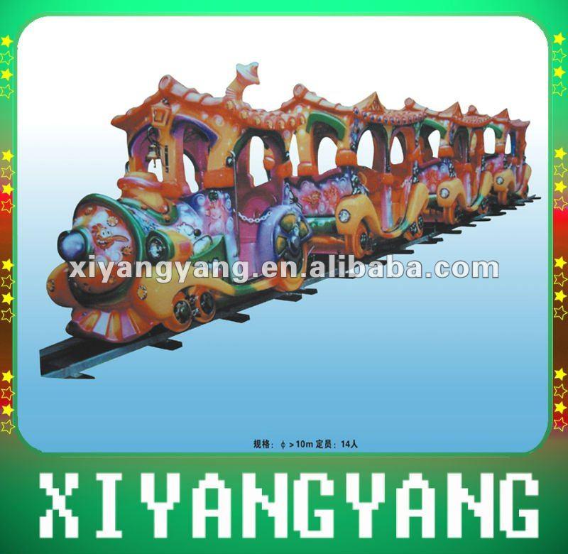 Parque de atracciones de tren - 2012 modelo más reciente