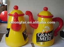 Factory inflatable tea pot ,kettle for advertising any other style