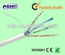 CE,ROHS certificate 305m pure copper Cat5e utp network cable