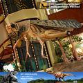 Mi dino- animatronic lifesize de simulación de modelo de los insectos de la langosta para o parque de exposiciones