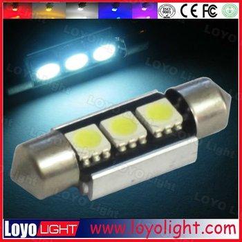 Error Free Festoon 3SMD Canbus Auto LED