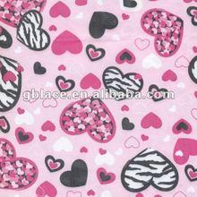 Sweet Hearts Paper Printing fabric mesh