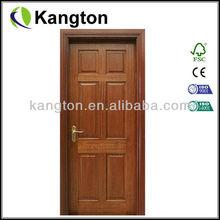 mahogany solid engineered wooden door
