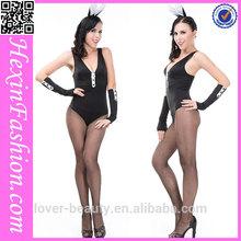 2012 3pcs black cotton bunny costume