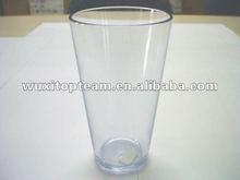 16oz 500ml Pub Pint,reusable plastic cup;small tumbler;