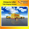 express alibaba furniture from China to USA
