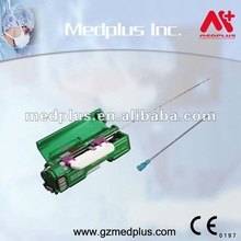 automatic biopsy needle used with Bard magnum gun puncture for soft organs