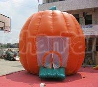 Lovely Hallowean Inflatable Pumpkin Bouncer, air jumper for kids