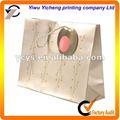 2013 vente chaude sac de papier cadeau, papier d'art sac de magasinage en ligne