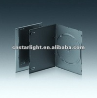 PP Single DVD Case Black Slim DVD Case 5mm DVD Case