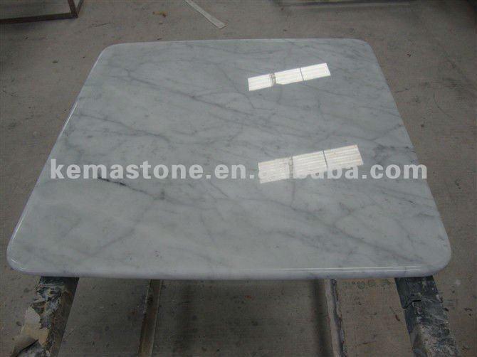 Carrera white marble table tops view white marble top kema stone