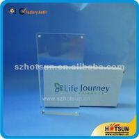 transparent 3r 4r 5r acrylic magnetic photo frame