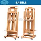 in stock 64*64.5*155(300)cm heavy duty studio easel double rocker easel