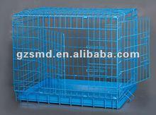Metal folding pet cage