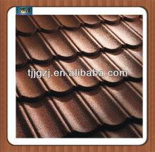 Stone coated metal roofing shingle