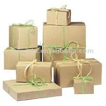 Kraft gift box set for chrismtas holiday --AB-18