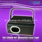 130mw DMX professional disco/dj/club RGY home laser light show equipment