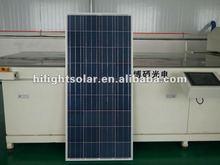 price per watt low price solar panel 140w luxor panels with TUV/IEC/CE/CEC