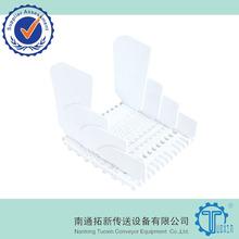 800 Plastic Modular Conveyor Belt with Side Guards