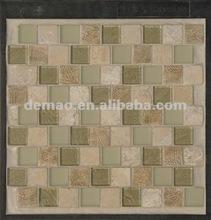 brown marble mosaic murals