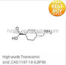High-purity Tranexamic acid ,CAS:1197-18-8,BP98