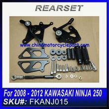 For 2008 2009 2010 2011 2012 KAWASAKI NINJA 250 REARSET Black