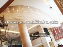 Crystal Chandelier for Lobby modern ceiling pendants