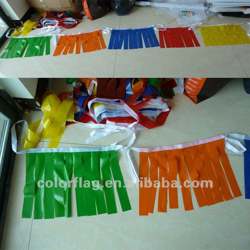 2012 PE decorative bunting flag