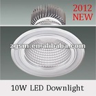 Depolished Silver 10W LED Down light With High Efficiency