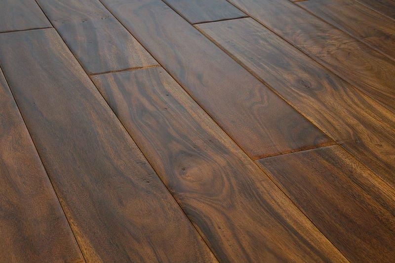 Handscraped Acacia wood flooring, View Handscraped acacia flooring, C ...