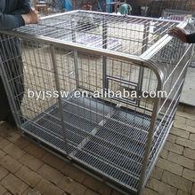 durable automatic lock aluminium dog cage factory
