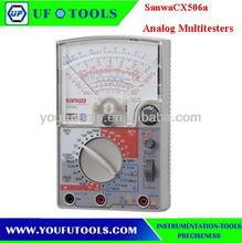 Sanwa cx506a, 26ch interruptor condensador del transistor& checker/alta impedancia de entrada 50 kohm/multitesters analógica